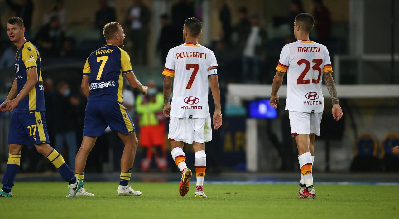 Verona-Roma, le pagelle: Pellegrini è il migliore, Caprari è super