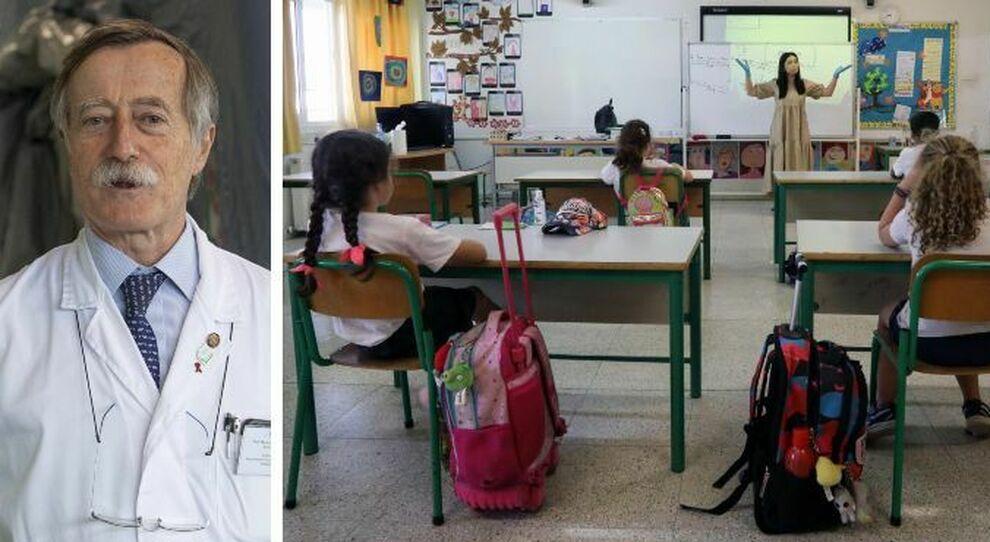 Scuola, Andreoni: «Con i bambini sicurezza impossibile. Così rischio concreto di nuovi focolai»
