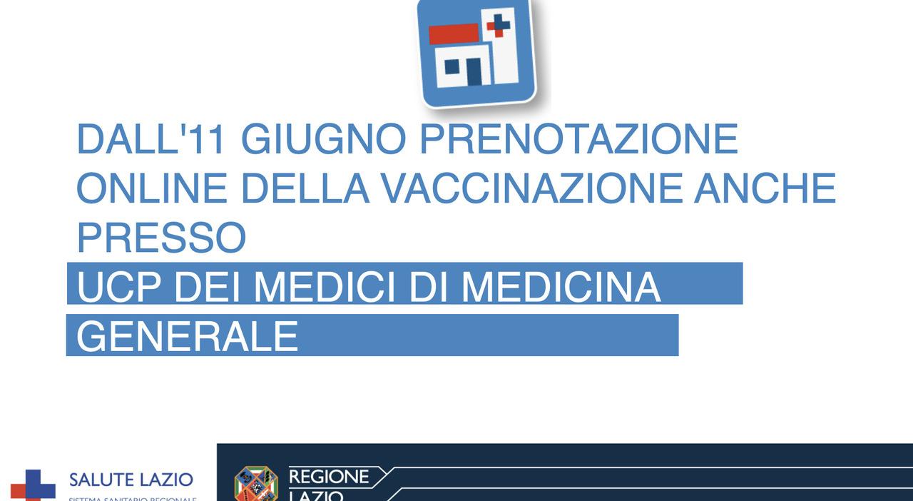 Prenotazione vaccino Lazio, da oggi anche per il medico di base: ecco come fare