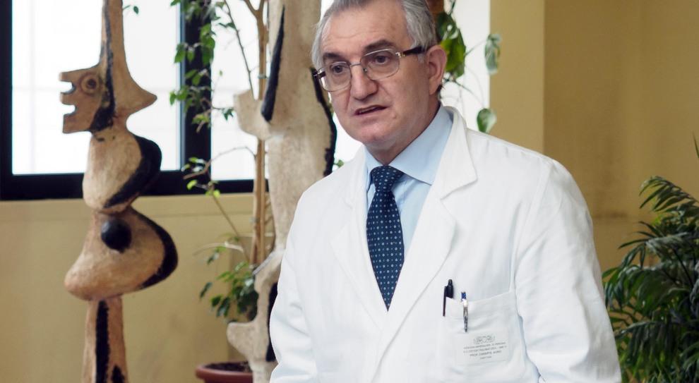 Il professor Auro Caraffa