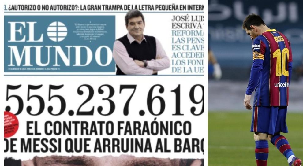 Messi, le accuse: ecco il contratto da mezzo miliardo che ha messo in ginocchio il Barcellona