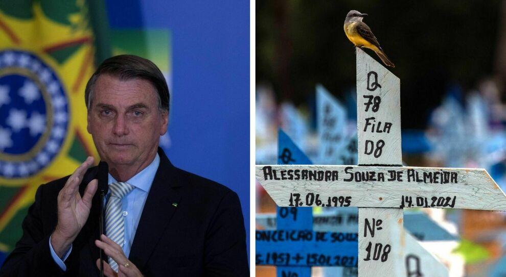 Il presidente del Brasile Jair Bolsonaro