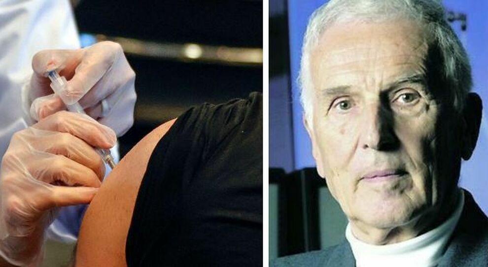 Vaccino, Garattini: «È più probabile morire cadendo dal letto, timori sono sproporzionati»