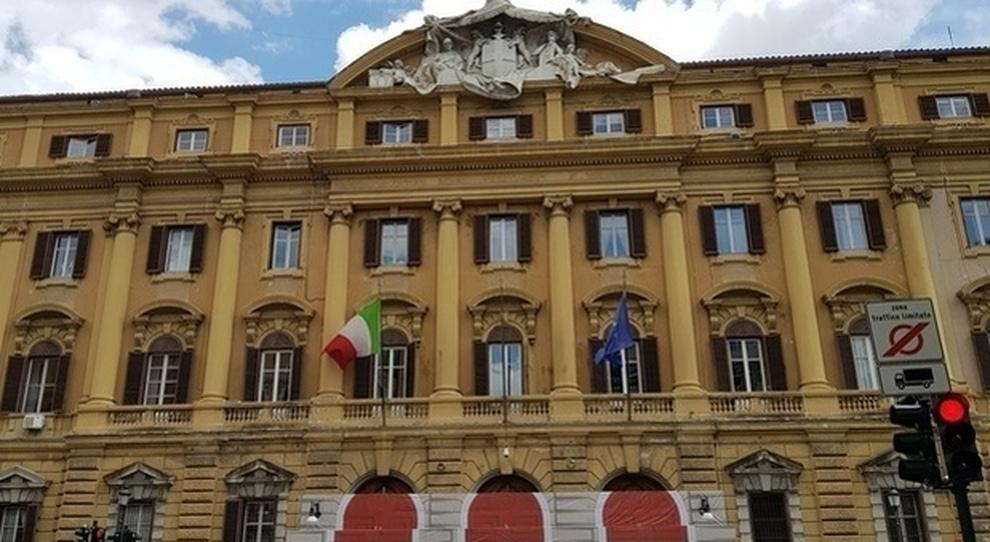 La sede del Tesoro a Via XX Settembre