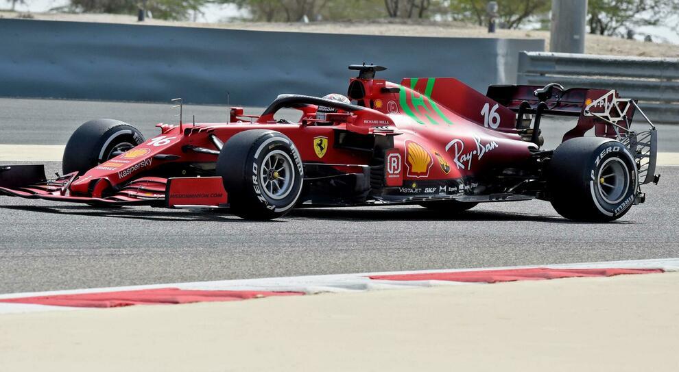 Ricciardo il più veloce nei primi test in Bahrain. Problema tecnico per Leclerc