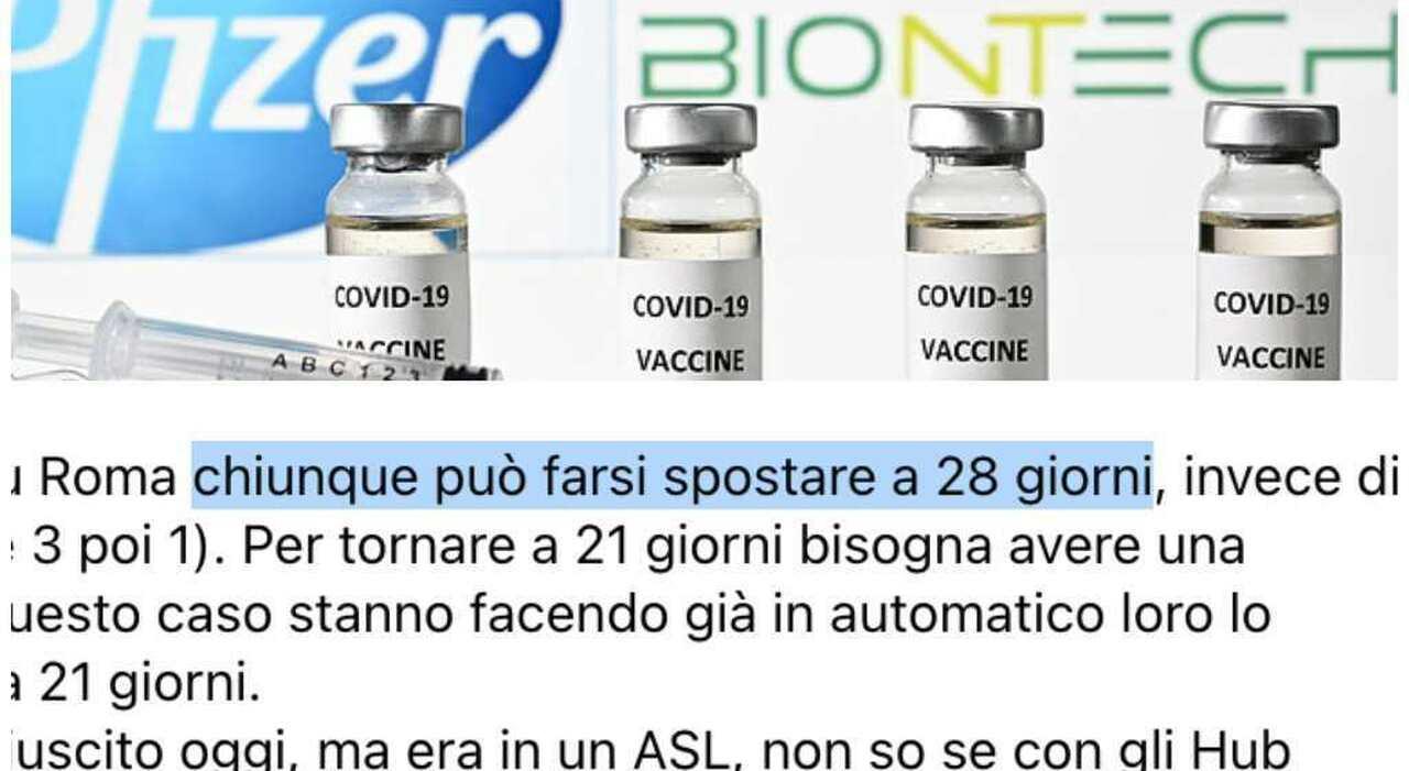 Richiamo Pfizer nel Lazio, appuntamenti anticipati: ecco cosa succede