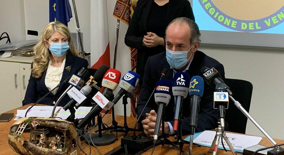Covid Veneto, bollettino 7 gennaio: 3.596 contagi e 43 morti. Zaia: «Improbabile zona rossa»