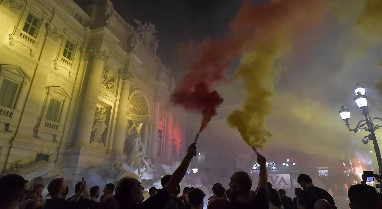 Covid Roma, boom di contagi. Si muove la Prefettura: i tifosi saranno denunciati `
