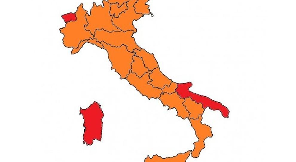 Riaperture: campania promossa, tre Regioni ancora in rosso. Ecco la mappa dell'Italia da lunedì 19 aprile