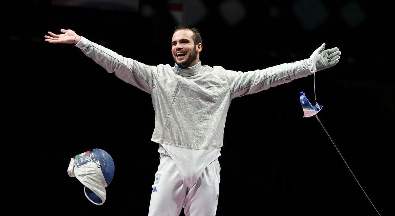 Sciabola maschile, chi sono i tre italiani che si giocano l'oro a Tokyo 2020