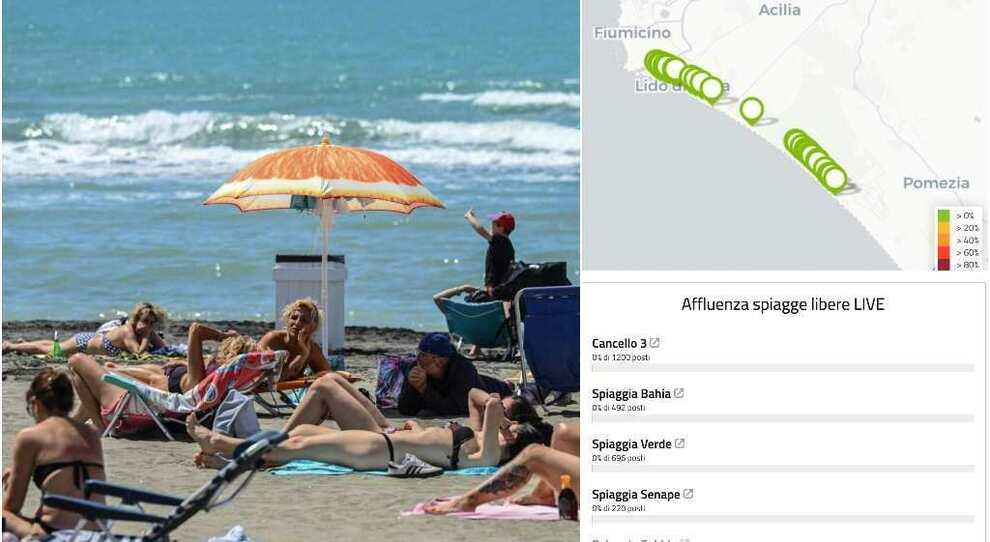 Spiagge, ordinanza Raggi, Pdf: riapertura il 15 maggio. Regole e divieti, dagli ombrelloni al distanziamento