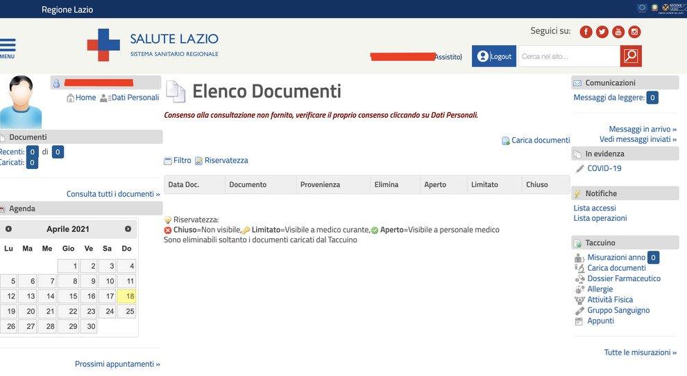 Certificato vaccinale: chi può richiederlo e come scaricarlo dal sito Salute Lazio