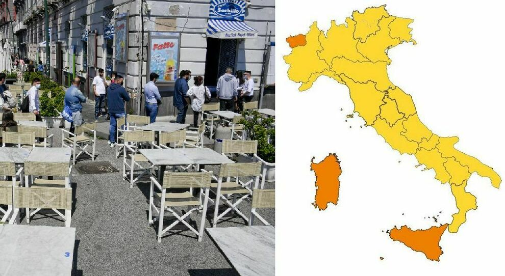 Zona gialla Lombardia, Lazio, Veneto, Campania e le altre regioni (arancione solo Aosta): attesa nuovi parametri