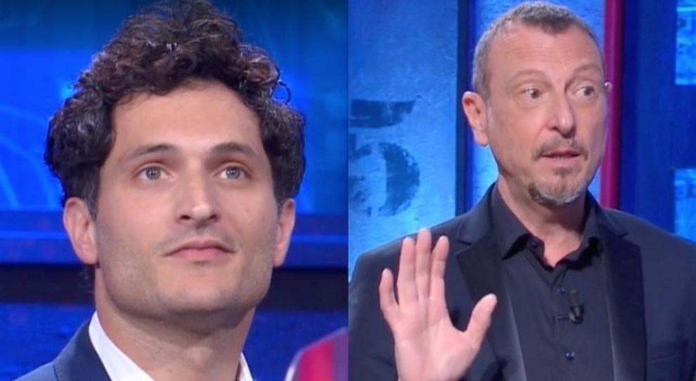 I Soliti Ignoti, «biglietto spoilera la soluzione» nell'indagine di Alessandro Tersigni. La reazione di Amadeus