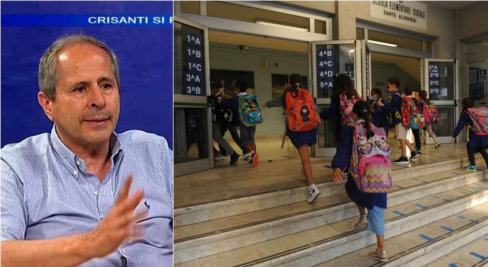 Covid, Crisanti: «Aumento casi per riapertura scuole, ma i veri effetti a metà ottobre. Fronteggiare il virus con i tamponi»