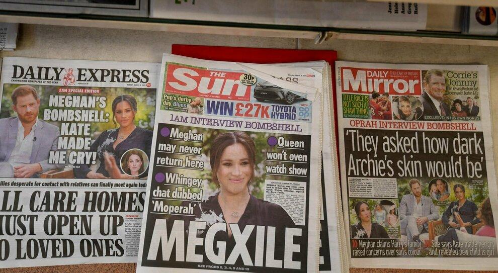 Meghan Markle divide la stampa britannica ma vince la guerra mediatica globale