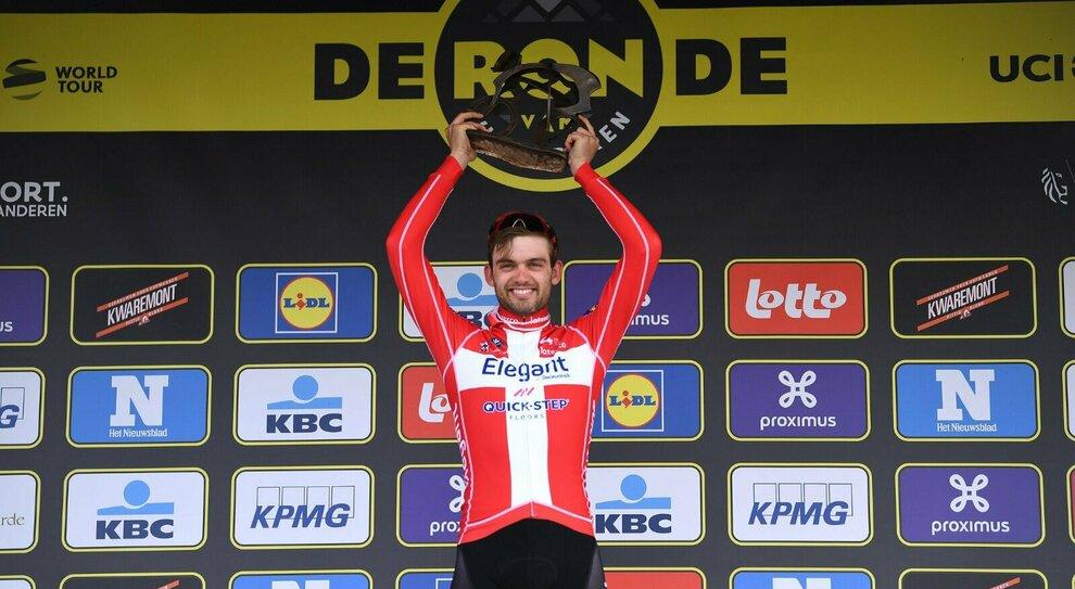 Kasper Asgreen, vincitore del Giro delle Fiandre 2021