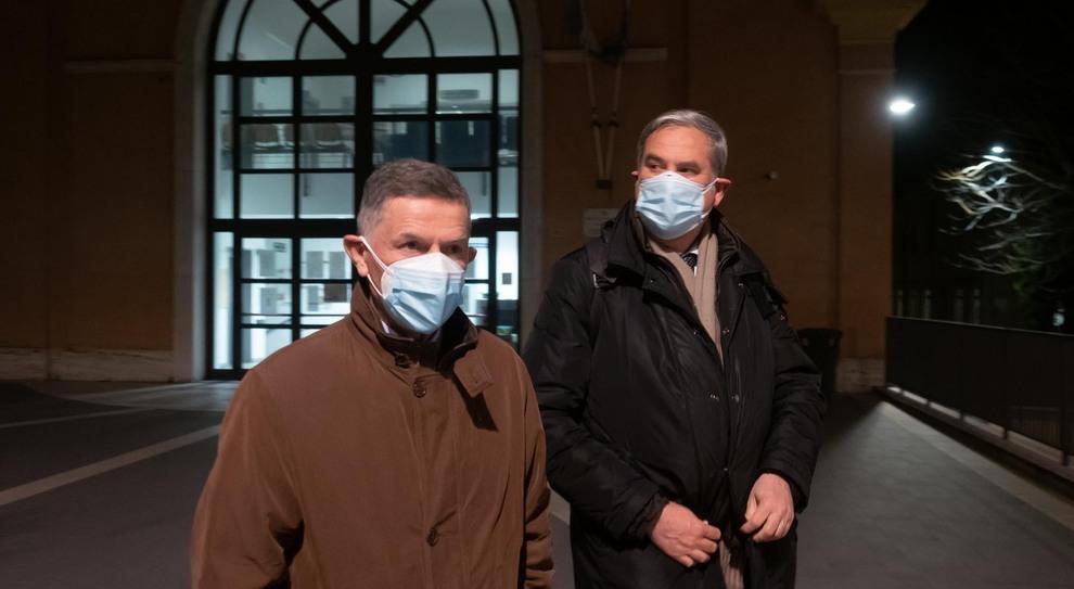 Emilio Duca con Francesco Falcinelli