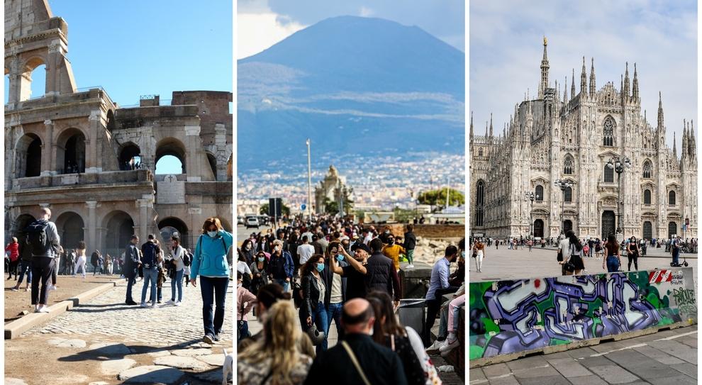 Covid, Roma è vicina al limite, Milano e le grandi città «sono già fuori controllo»