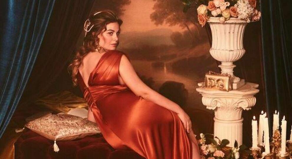 Vanessa Incontrada è la nuova musa 'curvy' di Dolce & Gabbana, che apre ora fino alla taglia 54