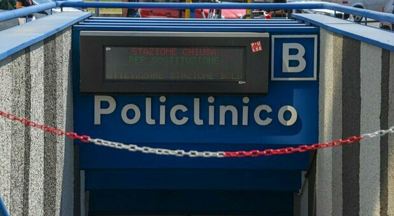 L odissea metro B: Policlinico non riapre. Mancano i collaudi sulle nuove scale mobili