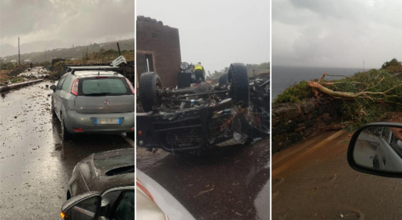 «Tromba d aria apocalittica»: a Pantelleria 2 morti e 9 feriti Si contano i danni