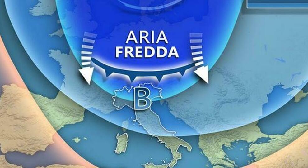 Meteo, da domani torna il freddo: «Irruzione artica, temperature sotto la media e neve a bassa quota»