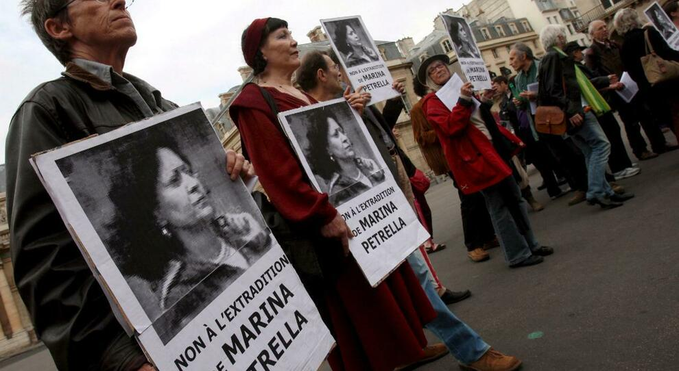 Una vecchia manifestazione a Parigi