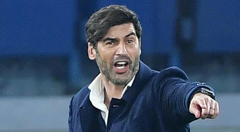 Roma, Fonseca contro il Manchester combatte con l ombra di Sarri