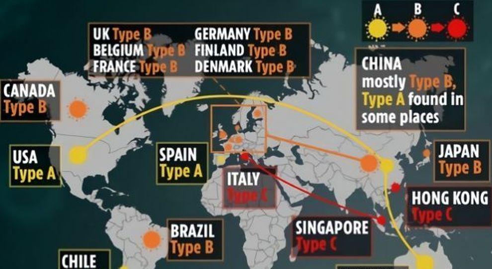 Coronavirus si è diffuso a settembre (e non da Wuhan): tre varianti, maxistudio britannico