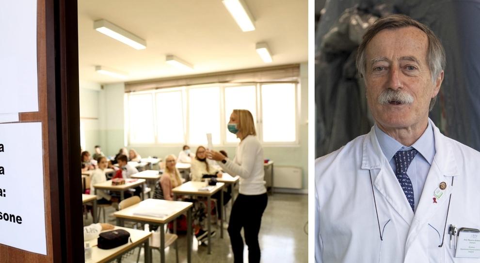Covid, Andreoni (primario di Tor Vergata): «Le classi luogo di contagi, per evitare allarmismi servono risposte veloci ai tamponi»