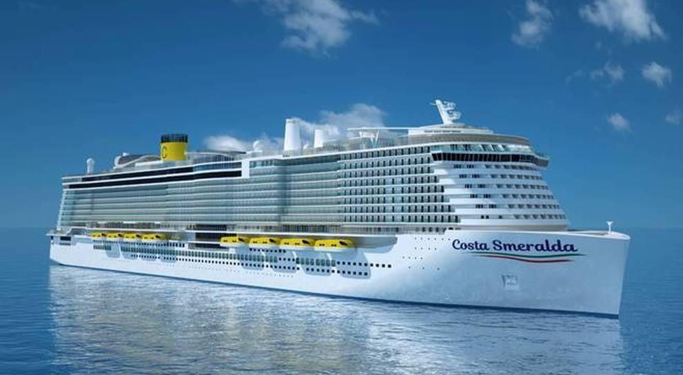 Costa Crociere, slitta la consegna di Smeralda, la prima nave del