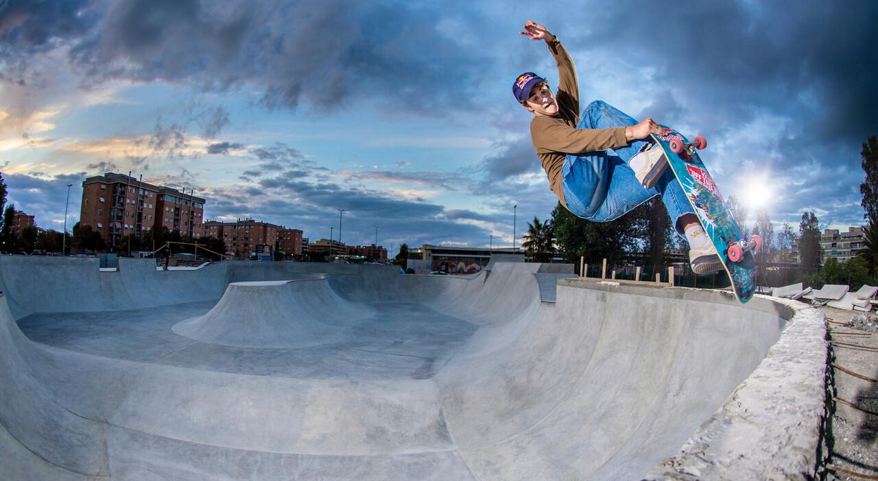 Ale Mazzara: «Io, skater azzurro ma con l'anima californiana»