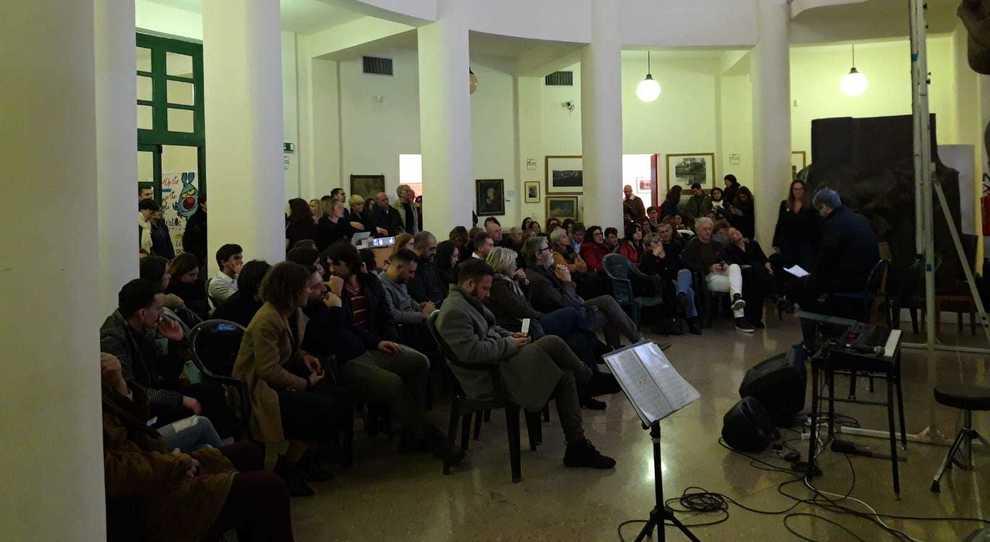 """La serata al """"Cambellotti"""" che ha concluso le manifestazioni di ieri"""