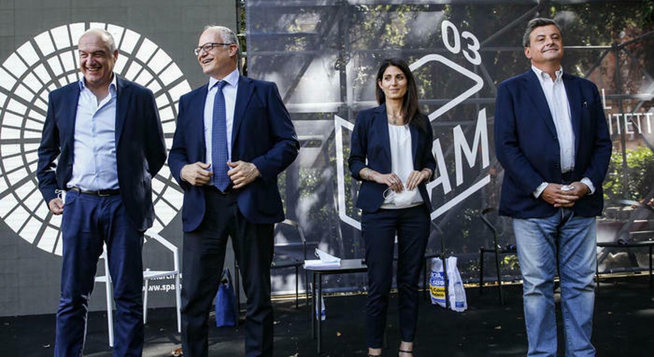 Roma, asse tra i quattro candidati: «Subito i poteri per Roma»