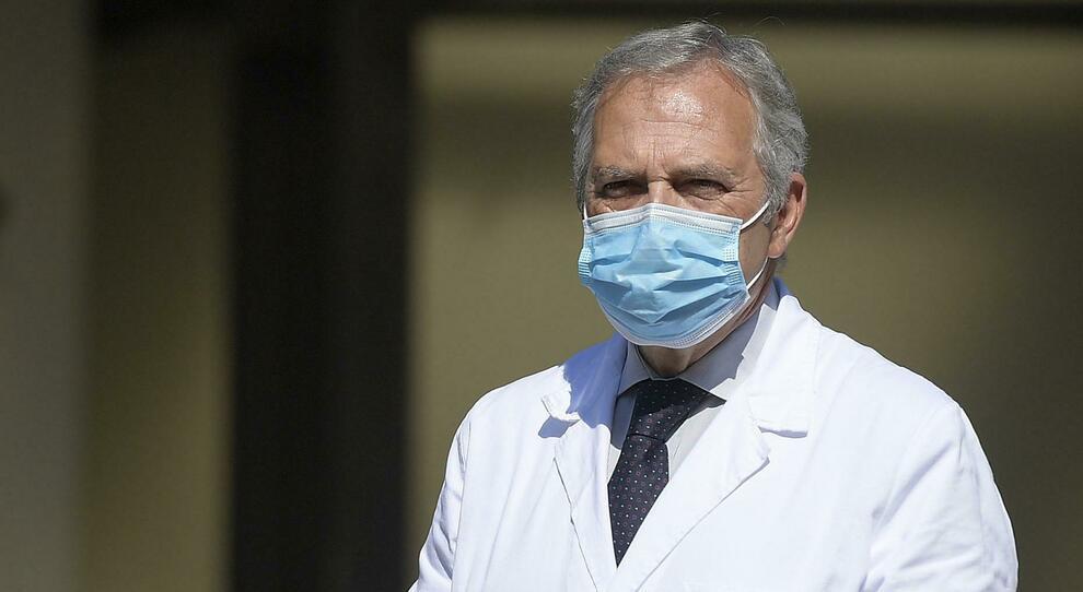 Francesco Vaia, direttore sanitario dello Spallanzani
