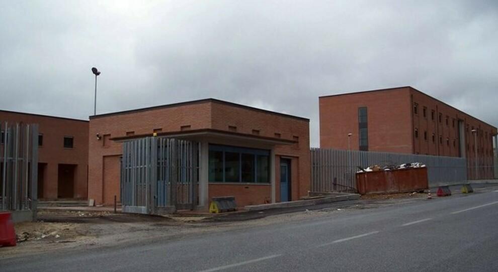 Il carcere di Rieti in cui si trovano le tre persone arrestate perché accusati di violenza sessuale di gruppo nei confronti di una 12enne