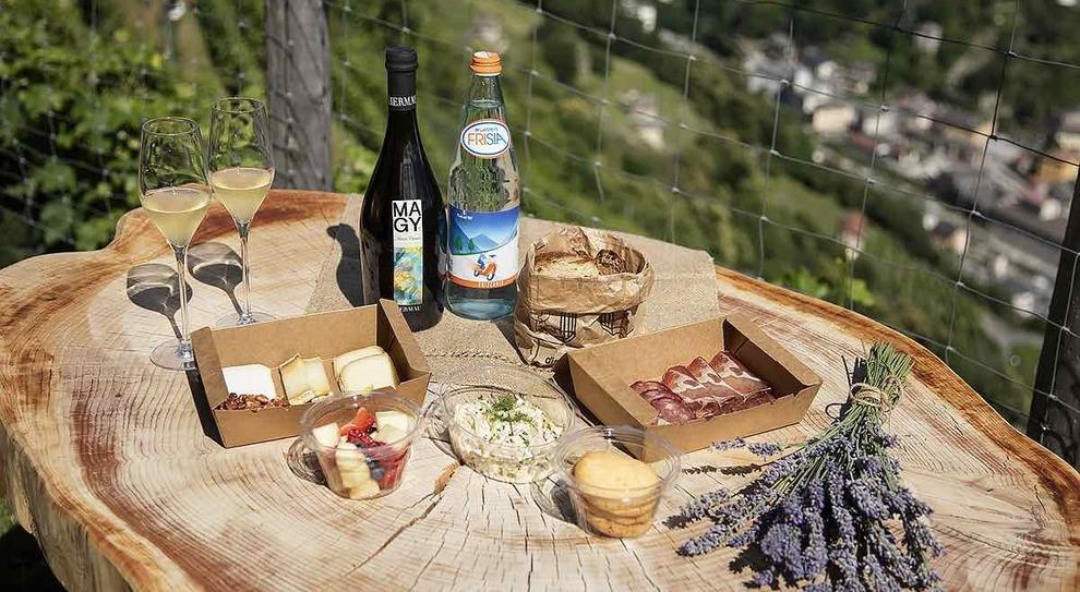 Picnic in Valchiavenna
