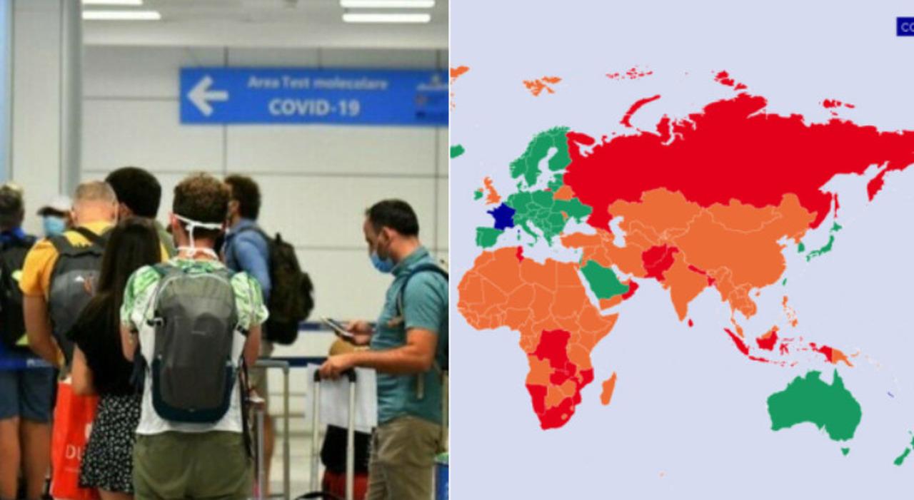 Zone verdi, arancioni e rosse: le regole anti Covid per viaggiare in Francia