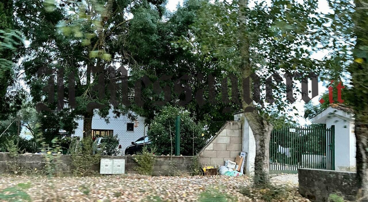 L'abitazione di Antonio Pennacchi, dove ieri è deceduto