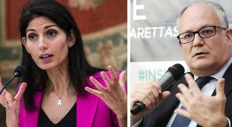 Elezioni Roma, Conte con Raggi. Gualtieri si candida per il Pd