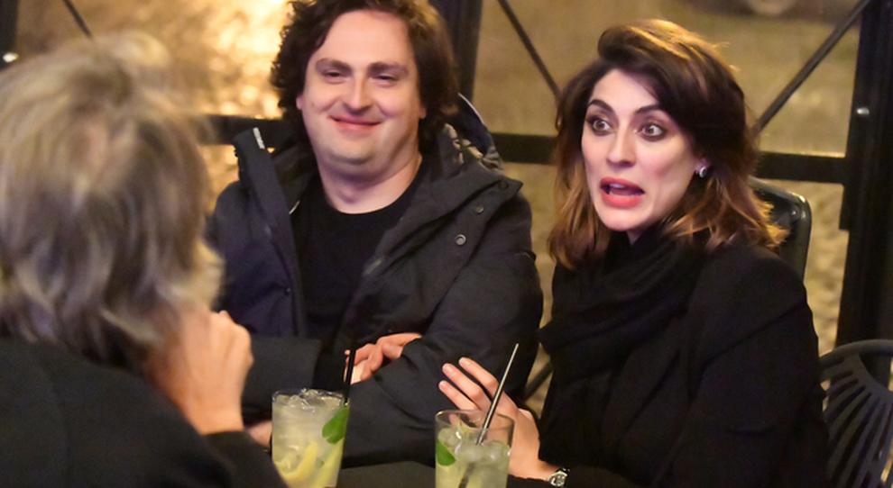 Alessandro Di Paolo con Elisa Isoardi (foto esclusive di RINO BARILLARI)