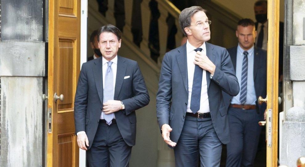 Conte e Rutte, la cena indigesta sul Recovery Fund: «Ci sono ancora divergenze»