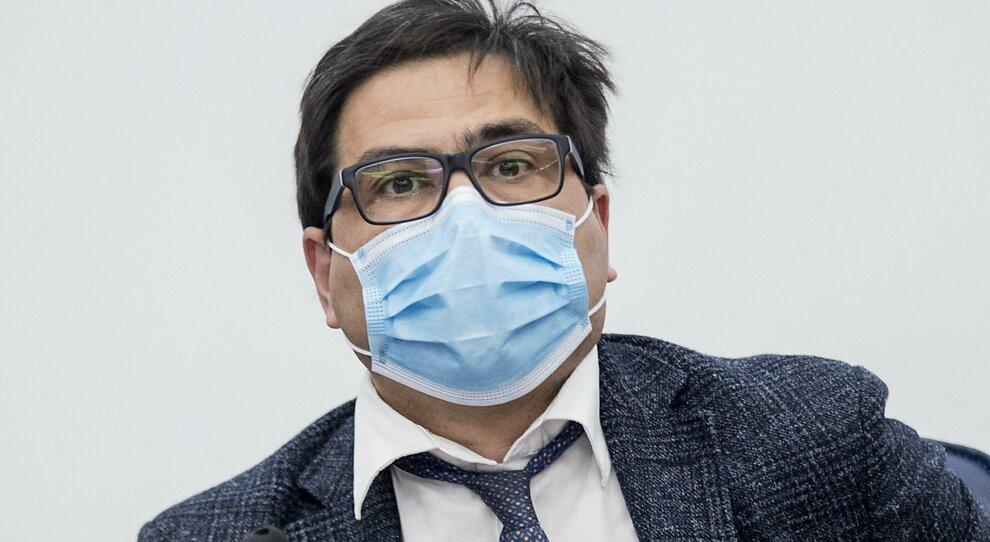 L'assessore alla sanità della Regione Lazio, Alessio D'Amato