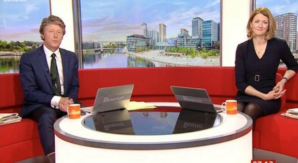 Rachel Burden e Charlie Stayt di BBC Breakfast