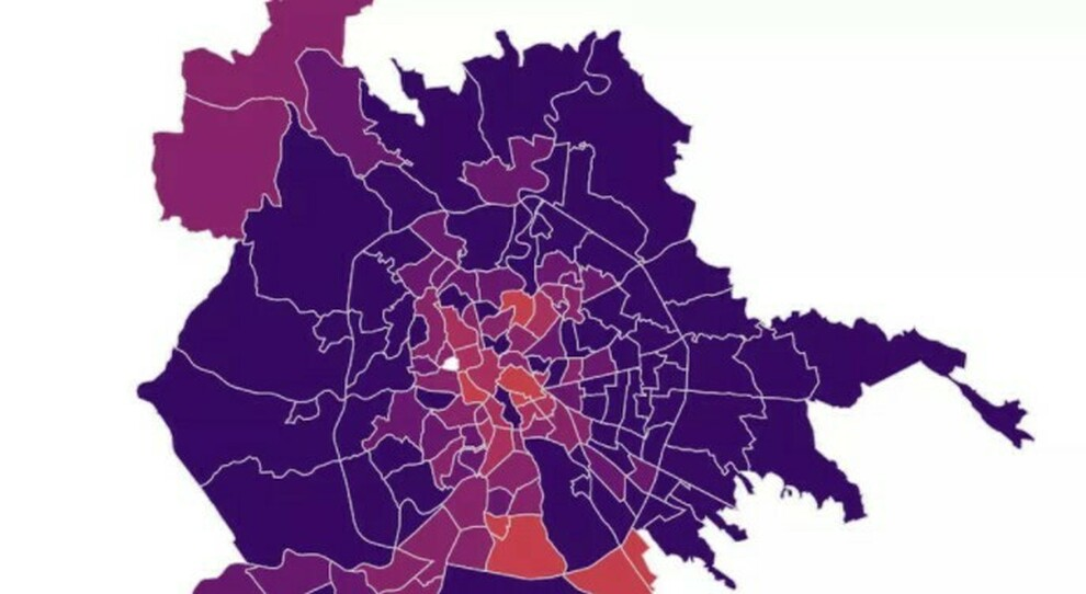 Covid Roma, mappa contagio quartieri: record di positivi a Primavalle e Don Bosco. Aumenti anche in Centro