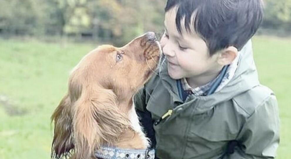 Leon, il bambino autistico che ha cominciato a parlare grazie all amore di un cane