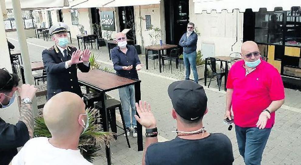 L'incontro tra il sindaco e gli operatori
