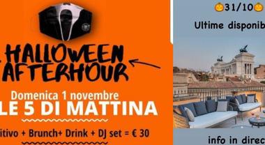 Halloween a Roma, feste con il trucco: in albergo o nei locali all'alba per aggirare i divieti