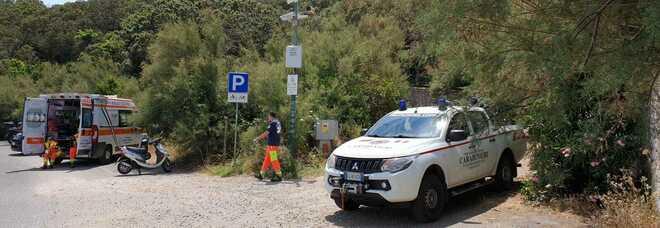 Paura per un giovane che si è fratturato una gamba sul promontorio del Circeo, recupero durato ore